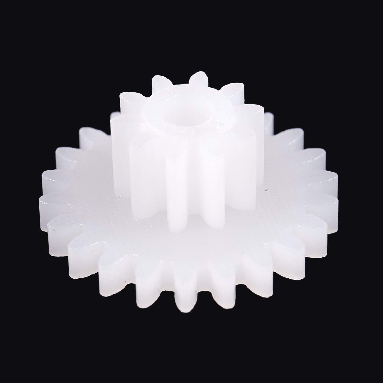 bobotron 58 Designs Plastic Gears Zahn-Raeder alle Modul 0,5 Roboterteile DIY Notwendige
