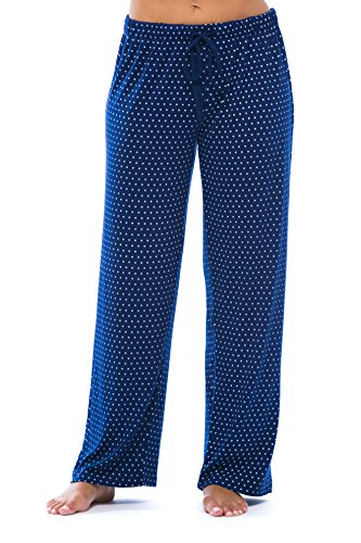 Just Love Women Pajama Pants - PJs - Sleepwear 6332-NVY-2X