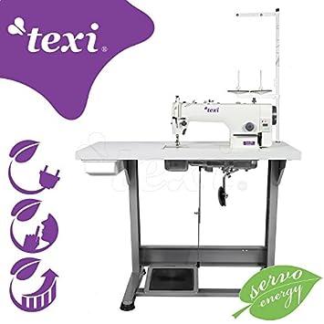 Top de Oferta: texi de la Industria de coser - con integrado Servomotor - Completo (con mesa y estructura) ¡NUEVO.: Amazon.es: Hogar