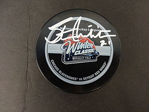 Stan Mikita Signed Official 2009 Winter Classic Puck Auto...