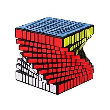 TBGGFSD Concurso De Cubos De Rubik De Diez Órdenes Juguetes De Cubo De Rubik De Alta Gama,Black: Amazon.es: Deportes y aire libre