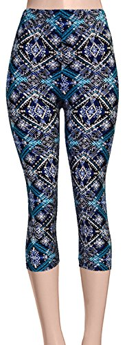 VIV Collection Brushed Cropped Leggings