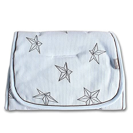 Minene - Reversible para carrito de maletero, luz azul con estrellas: Amazon.es: Bebé