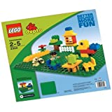 "LEGO Duplo Green Building Plate (15"" X 15"") (Discontinued by manufacturer)"
