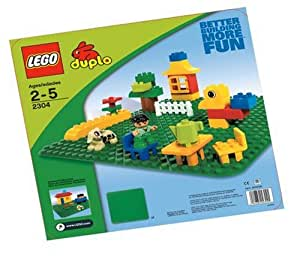 """LEGO Duplo Green Building Plate (15"""" X 15"""") (Discontinued by manufacturer)"""