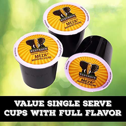 Westrock Coffee Company Meza Morning Blend Best Medium Roast Gourmet Single Serve Cup 80 Count by Westrock Coffee Company (Image #8)
