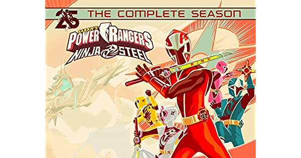 Amazon.com: Power Rangers Ninja Steel: The Complete Season