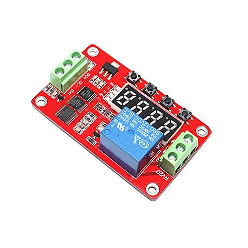 FRM01 DC 12V 1 Channel Multifunction Relay Module Loop Delay Timer Switch Self-Locking Timing Module