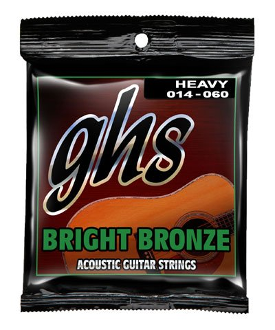 GHS BB50H Heavy Bright Bronze Acoustic Guitar Strings (Ghs Bright Bronze Acoustic Guitar)