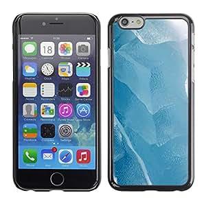 Paccase / SLIM PC / Aliminium Casa Carcasa Funda Case Cover para - Ice Winter Lake White - Apple Iphone 6