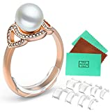 #5: Likimar Ring Size Adjuster for Loose Rings Newly-designed Ring Sizer For Any Rings 8 Pack