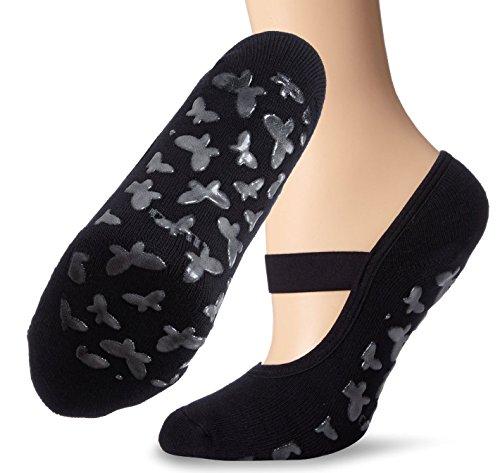 Women's Ballet Single Shoes (Black) - 2