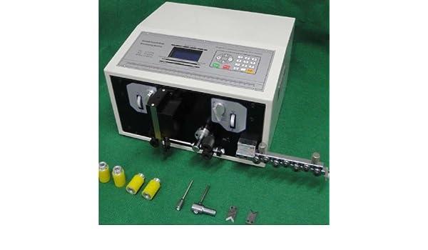 CGOLDENWALL swt508-sd ordenador Cable pelador pelar máquina de corte rápido barco: Amazon.es: Bricolaje y herramientas