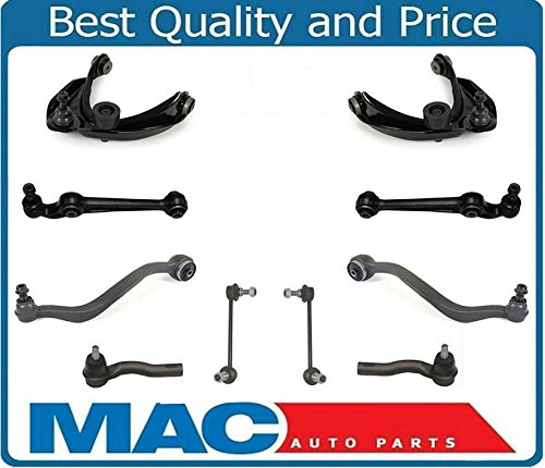 10 Pcs Chassis Kit Control Arms Fits For Ford Fusion 10-12 Mercury Milan 10-11