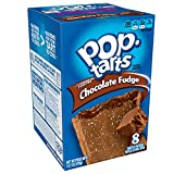 Pop-Tarts Breakfast Toaster Pastries, Frosted Chocolate Fudge Flavored, Bulk Size, 96 Count (Pack of 12, 14.7 oz Boxes)