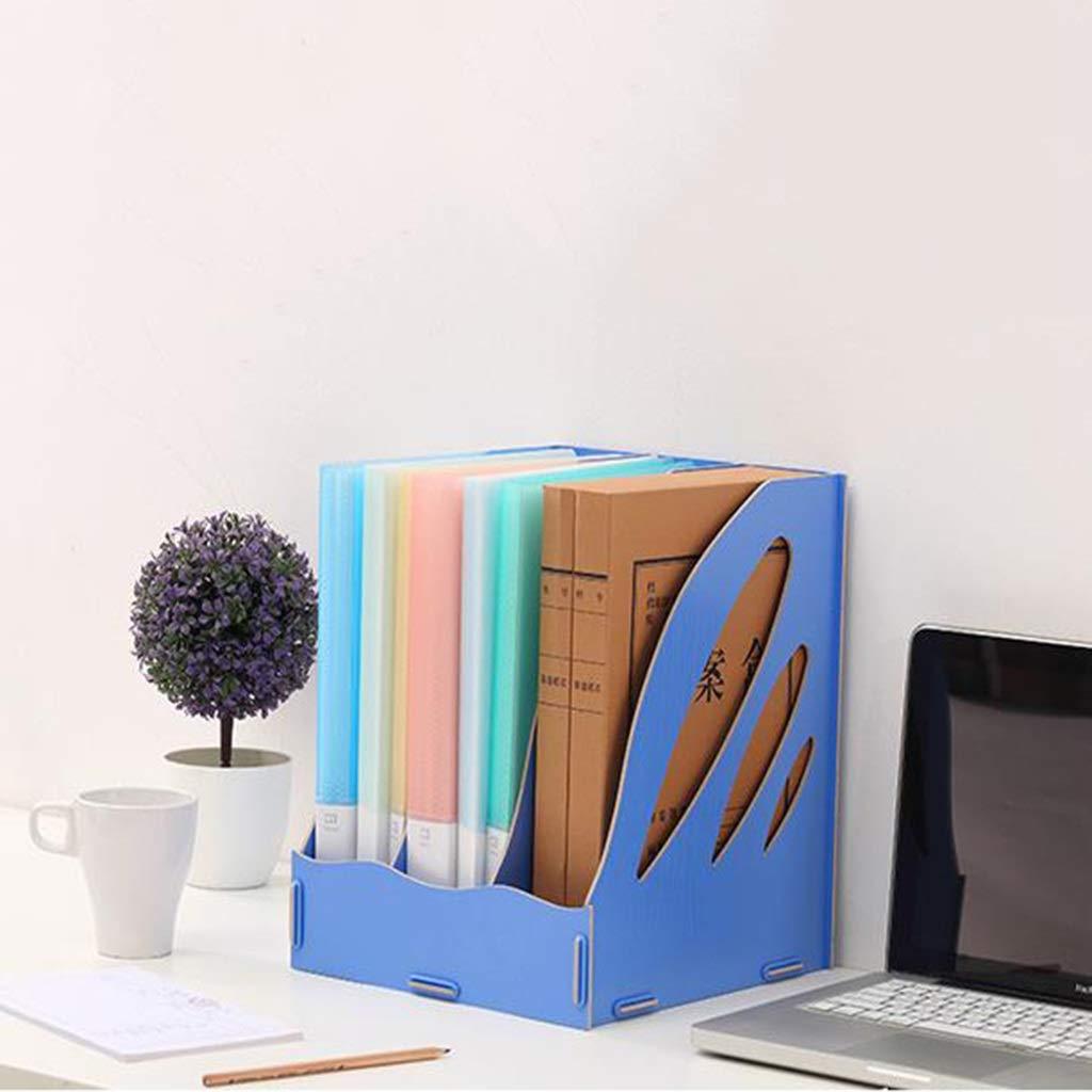 Dateihalter Aus Holz Bürobedarf Bürobedarf Bürobedarf Desktop Magazin Aufbewahrungsbox Datenrahmen Dateikasten Dateileiste Dateikorb (Farbe    5) B07MX6F5ZT   Auktion  72bbed