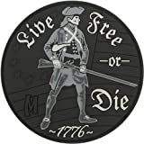 Maxpedition Live Free Or Die Patch, SWAT