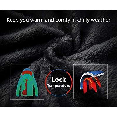 Wantdo Women's Mountain Waterproof Ski Jacket Windproof Rain Jacket Winter Warm Snow Coat: Clothing