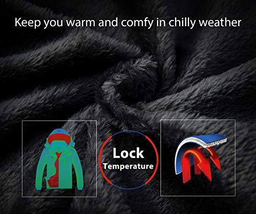 Wantdo Men's Mountain Waterproof Ski Jacket Windproof Rain Jacket Winter Warm Snow Coat 4
