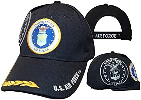 Air Force USAF Emblem Shadow Feathers Embroidered Cap Hat 603BB U.S