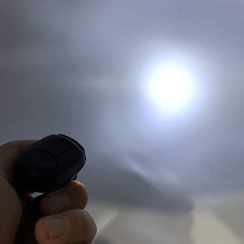 L/ámpara de tapa de tama/ño de pulgar FISHNU luz de clip de gorra de bola ajustable giratoria de 90 /° de 360 /° luz de visera de gorra de b/éisbol paquete de 2