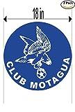 CanvasByLam Motagua Honduras Soccer Football Club FC 2 Stickers Car Bumper Window Sticker Decal Huge 18 inches