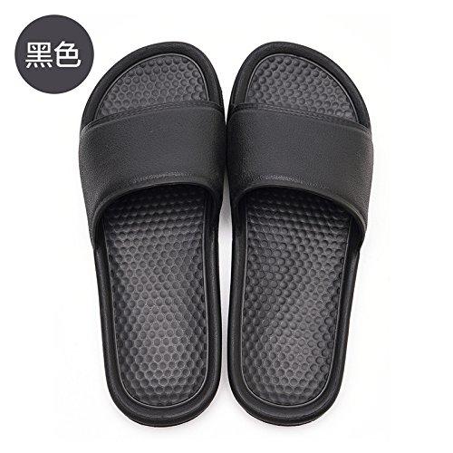 suelo hogar cuarto zapatillas verano Fankou ligero negro verano el baño de olor el fresco femenino 36 35 nbsp;Zapatillas género de del en de 0wCZOfwq