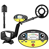 SAKOBS Metal Detector -【Disc & Tone & Full Metal & Pinpointer Modes】 Higher Sensitive Professional Waterproof Metal Detectors for Adults and Kids, Gold Finder Detector for Treasure Hunting Underwater