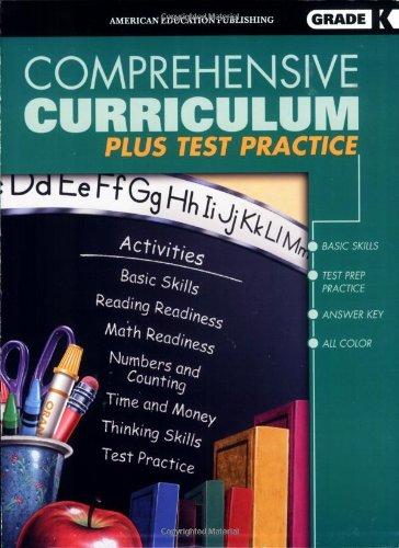 Comprehensive Curriculum Plus Test Practice, Kindergarten