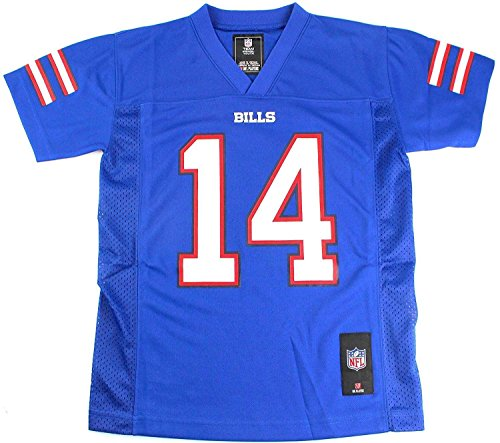 Outerstuff Sammy Watkins Buffalo Bills #14 NFL Youth Mid-Tier Jersey Blue (Youth Large 14/16)