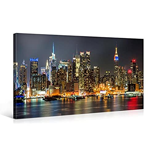 New York City Canvas Wall Art Amazon Com