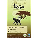 Tega Organic Tea Chocolate Mint Rooibos 18 Count