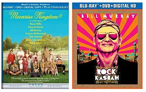 Bill Murray Movies 2-Pack - Rock The Kasbah & Moonrise Kingdom (DVD + BLU-RAY + DIGITAL HD)