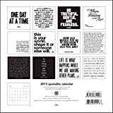 (8x8) Black & White Quotes - 2013 Mini Calendar