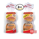 2 Pack Joseph's Flax, Oat Bran and Whole Wheat Flour MINI Pita Bread (Low Carb)