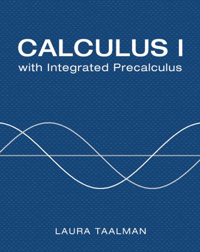 Calculus I with integrated Precalculus