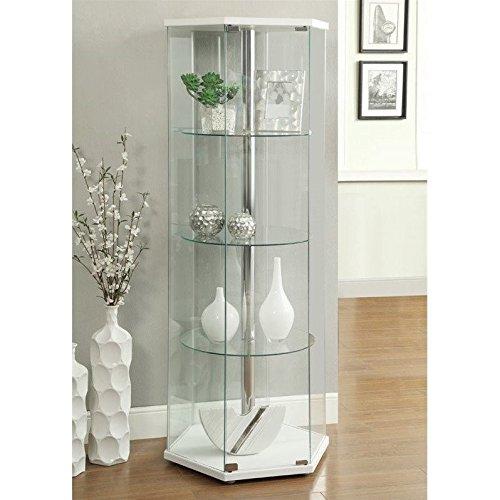 Glass Curio Cabinet - 6