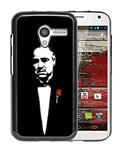 Fashionable Custom Designed Skin Case For Motorola Moto X With Godfather Black Phone Case
