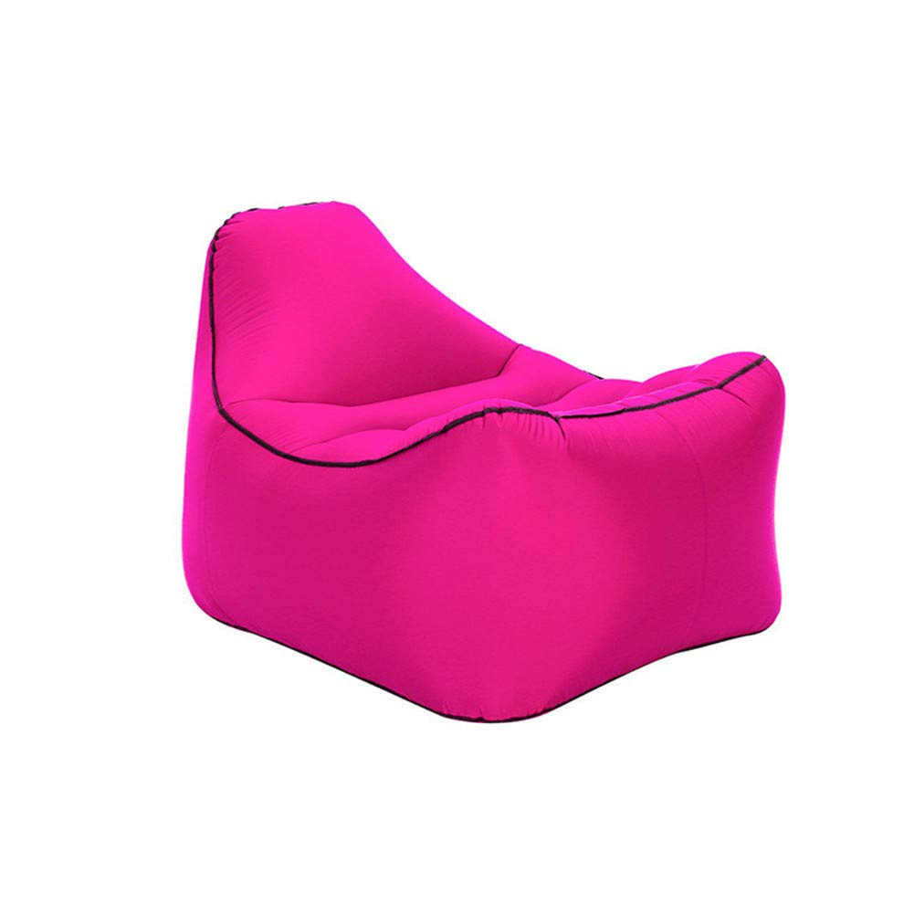 DDPP Air Sofa Outdoor Portable Single-Air-Bett Feuchtigkeits-Sichere Bodenmatte Wasser Aufblasbare Faule Sofa-Bett,5
