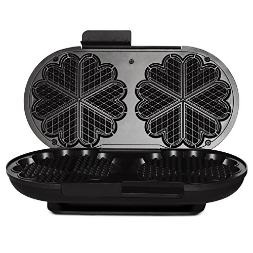 Wilfa Traditional Norwegian Waffle Maker WAD-619B (Black), 1700-Watts, Made in Norway by WAD-619B (Image #7)