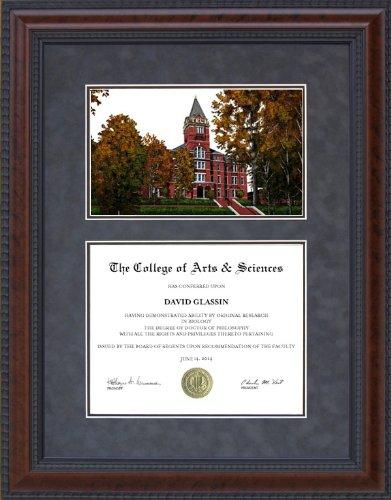 Amazon com : Diploma Frame with Licensed Georgia Tech Campus