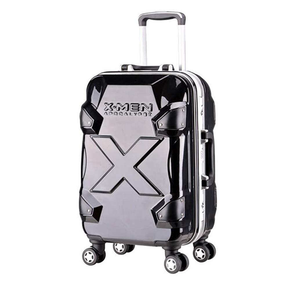 20インチビジネススーツケース、軽量荷物、360ユニバーサルホイール搭乗盗難防止パスワードトロリーケース。男性/女性旅行荷物セット   B07RHFYTCD