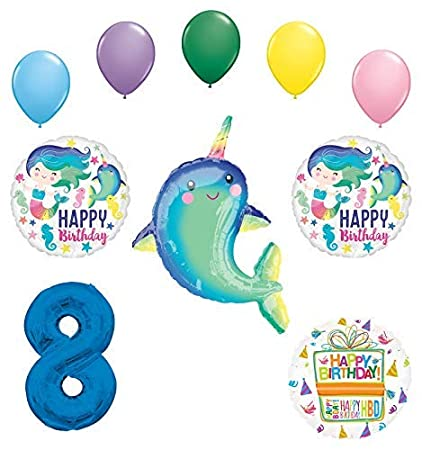 Amazon.com: Mayflower Products Narwhal Party Supplies ...