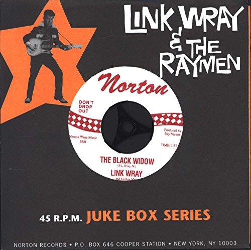 Black Widow Mustang - the black widow / mustang 45 rpm single