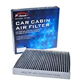 POTAUTO MAP 1003C Heavy Activated Carbon Car Cabin Air Filter Replacement for ACURA, CSX, ILX, RL, RLX, TL, TSX, ZDX, MDX, RDX, HONDA, Accord, Civic, Crosstour, CR-V (Upgraded with Active Carbon)