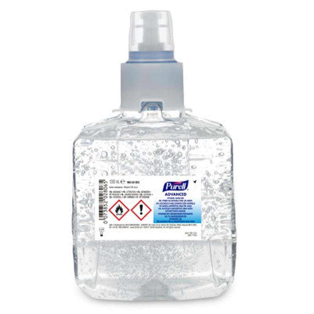 LTX Purell Advanced Hand Sanitizer Foam 1200ml (2 Tubs) Gojo