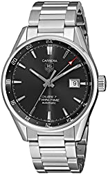 TAG Heuer Men's WAR2012.BA0723 Analog Display Automatic Self Wind Silver Watch