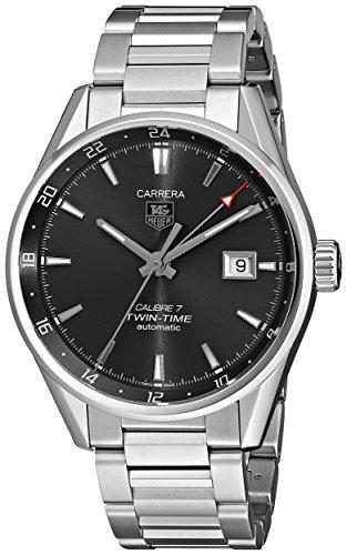 TAG Heuer Men's WAR2012.BA0723 Analog Display Automatic Self Wind Silver Watch -