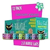 Tikicat Gourmet Whole Food 12-Pack Queen Emma Variety Pet Food