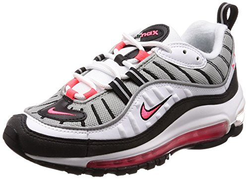 W Max NIKE Gymnastique 98 White 104 Reflect Dust Silver Chaussures Femme de Solar Air Blanc Red fqqdxrT